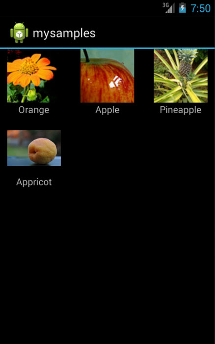 Showing images in GridView with multiple columns [Android